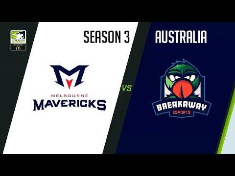Melbourne Mavericks vs Breakaway eSports vod