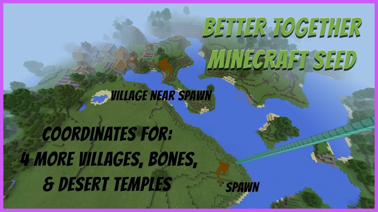 Spruce Village at Spawn Seed Minecraft Xbox One Better Together jan 8 8