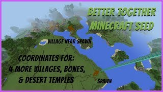 Spruce Village at Spawn Seed Minecraft Xbox One Better Together jan 3 18