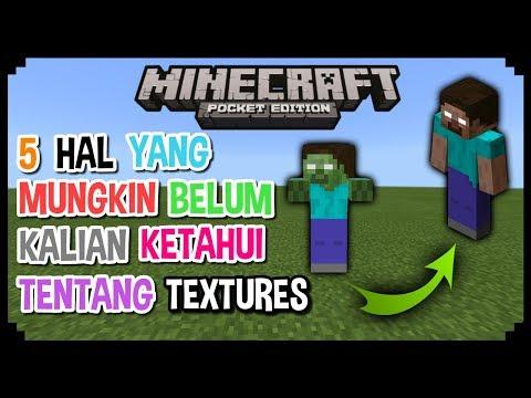 5 Hal Yang Mungkin Belum Kalian Ketahui Tentang Textures/Tekstur Di Minecraft PE 1.2