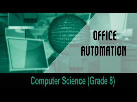 advantages of office automation. computer sciencegrade 8 introduction to computers office automation unit 19 youtube advantages of
