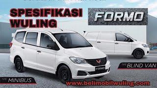 Download Video Spesifikasi Wuling Formo 1200cc Minibus MP3 3GP MP4