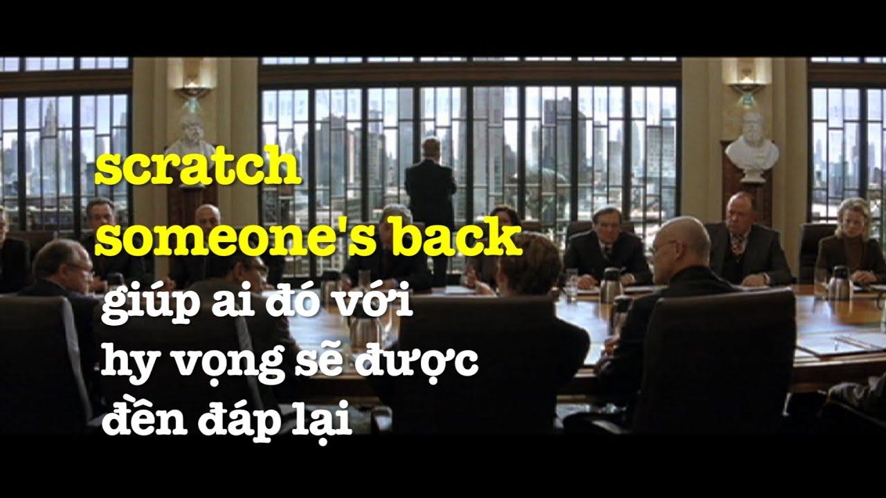 Học tiếng Anh qua phim ảnh: Scratch someone's back – Phim Batman Begins (VOA)