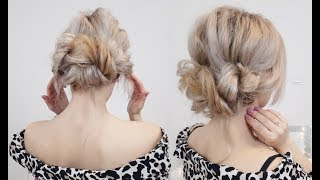 SUPER EASY HAIRSTYLE ROPE BRAIDED BUN | Awesome Hairstyles ✔