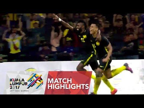 Football ⚽ match highlights: Singapore 🇸🇬 vs Malaysia 🇲🇾 | 29th SEA Games 2017