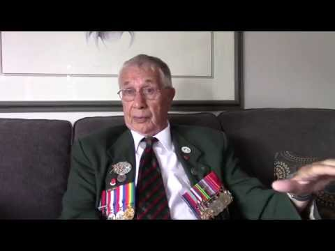 """Juno Beach to Germany"" Jim Parks WWII Combat Veteran, Royal Winnipeg Rifles"