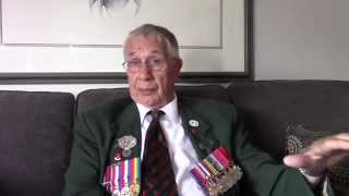 """Juno Beach to Germany"" Jim Parks WWII Combat Veteran, Royal Winnipeg Rifles"