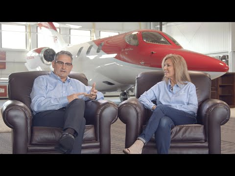 Husband and Wife Duo Balance Business and Giving Back Using their HondaJet