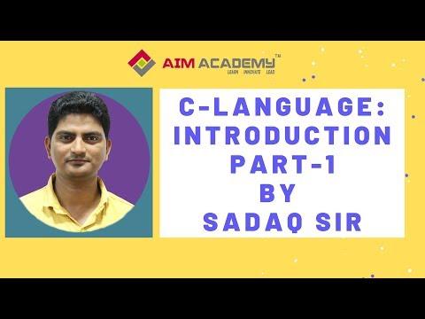 C Language : Introduction -Part 1 thumbnail