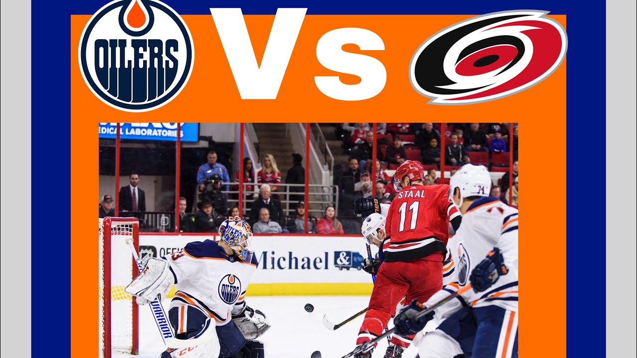 Oilers vs canes! Pre game video