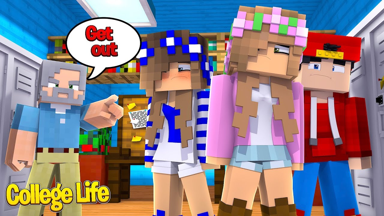 we-have-to-leave-college-minecraft-college-life-little-kelly-ropo-carly