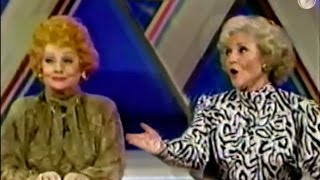 Lucille Ball, Betty White on Super Password 1986 - part 1