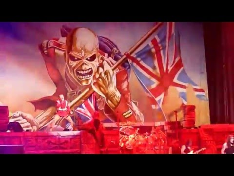 Iron Maiden - The Trooper (live) at The Palace of Auburn Hills, MI on 04.05.16