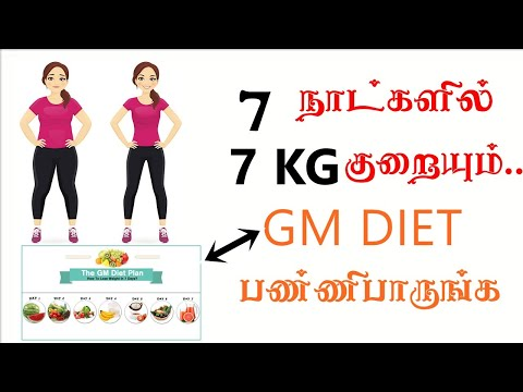 best Diet plan for weight loss in tamil|how i loss 7 kg in 7 days?|lose weight fast