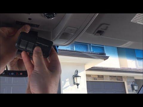 How To Program Your Car Garage Door Remote Gmc Chevrolet