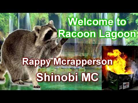 🎤NEW SONG! ♫ Welcome to Raccoon Lagoon ♫😍🎄🎤🔞