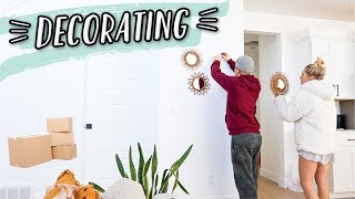 DECORATING AND ORGANIZING OUR NEW HOUSE!