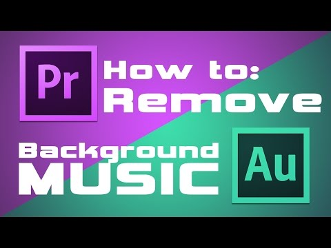 How to: Remove Background Music