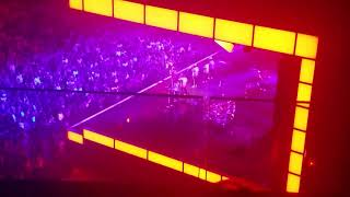 THE END OF BRUNO MARS CONCERT CHICAGO ILLINOIS 2017
