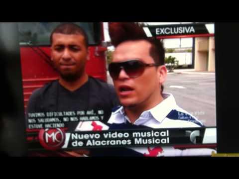 Nuevo Video de Alacranes Musical Interview, Al Rojo vivo, Omar, Chema, Ruby and Oscar