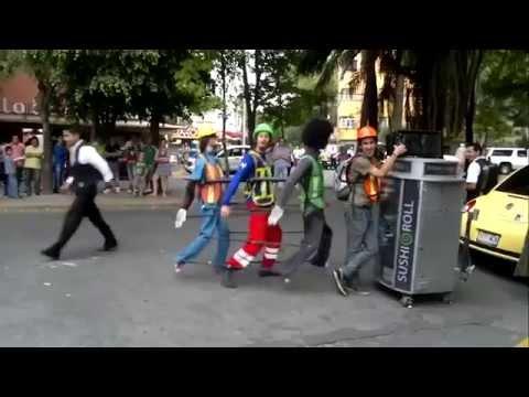 one man puppet dance show