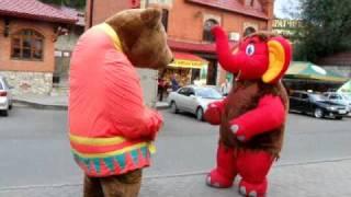Бой на улице (2 Раунд) Слон против медведя г. Белокуриха
