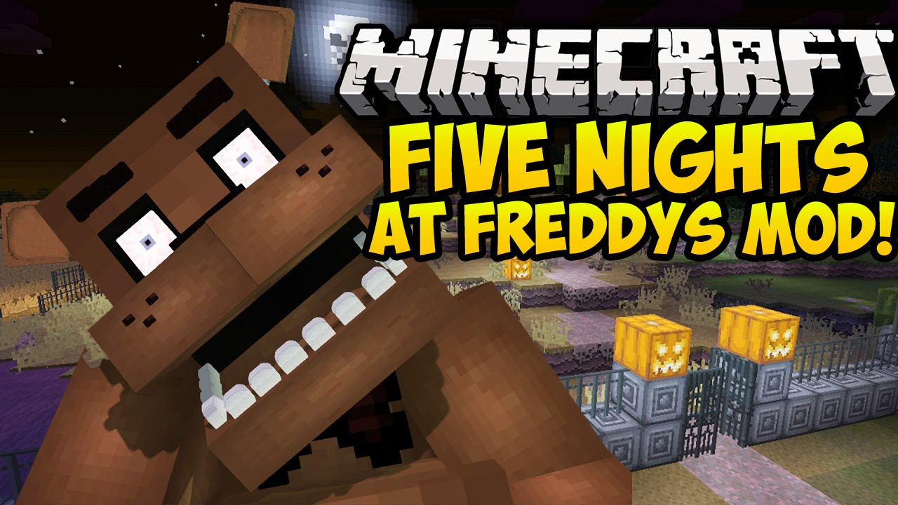 Five Nights at Freddy's Mod 1 7 10 | Minecraft Mods