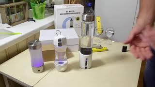 Водородная вода - чашки из Китая на PEM SPE  мембранах