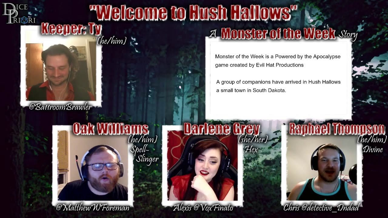Monster of the Week | Welcome to Hush Hallows