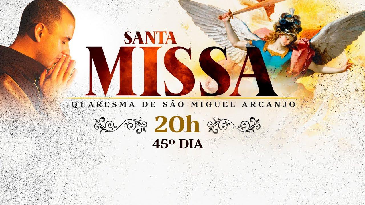 Download Santa Missa / 45º Dia / Quaresma de São Miguel / 20:00 / LIVE Quaresma AO VIVO