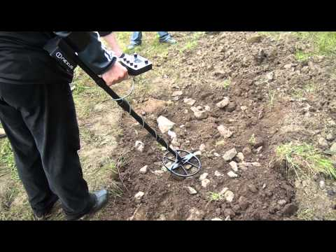 Nexus,Golden Mask,XP Deus ,AKA Metal Detectors-Tests of mineral soil in Slivek 2014
