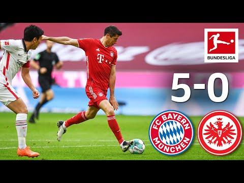 FC Bayern Celebrates Goal Festival | Bayern München - Eintracht Frankfurt | 5-0 | Highlights | MD 5