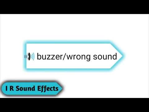 Wrong/Buzzer Sound - Copyright Free Sound Effects