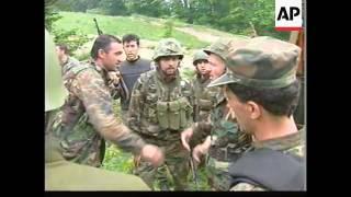 Momenti kur oficeri rus dhe 11 ushtarë serb vriten në Koshare (VIDEO)