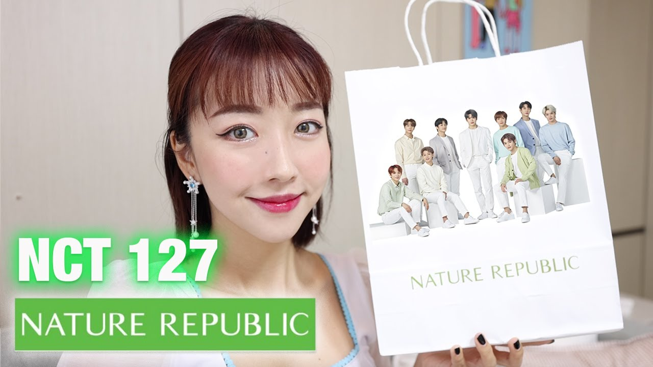 REVIEW NCT 127 x NATURE REPUBLIC | WAH GILA SIH .. INI..