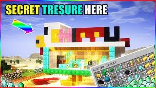 I found secret treasure in BeastBoyShub mincraft world | minecraft hindi gameplay