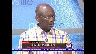 GHS 800K Website Row - Newsfile on JoyNews (23-12-17)