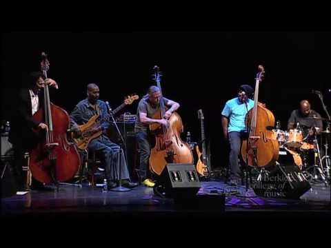 John Patitucci, Victor Wooten, Victor Bailey, and Steve Bailey in concert