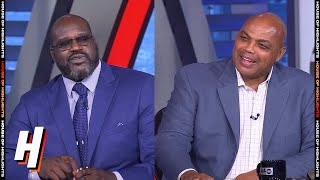 Shaq & Chuck Heated Argument - Inside the NBA | August 13, 2020