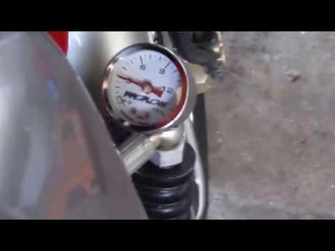 0-15 PSI oil Gauge 125cc cg clone motor (skyteam ace)