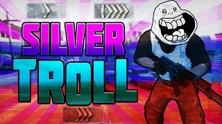 CS:GO SILVER TROLL #1 FULL MAÇ FUNNY MOMENTS! (+18)
