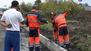 Как в Лесном продвигается капитальный ремонт улицы Мамина-Сибиряка?(, 2015-08-24T06:22:52.000Z)
