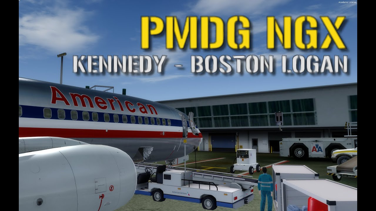 P3d Pmdg Ngx American Airlines New York Kennedy