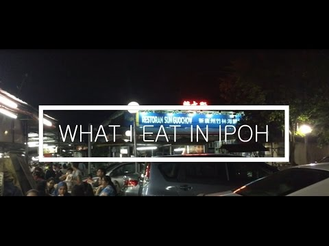 TRAVEL VLOG | WHAT I EAT IN IPOH