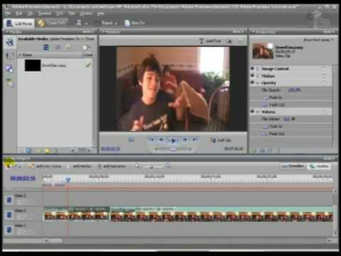 Time Stretch: Adobe Premiere Elements 3 Tutorial - YouTube