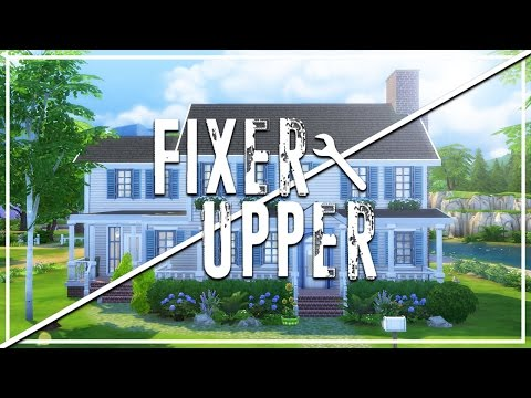 ROSE CLIFF // The Sims 4: Fixer Upper - Home Renovation
