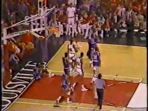 Louisville vs Memphis St 1986 METRO Conference Tourney Championship (FULL GAME)
