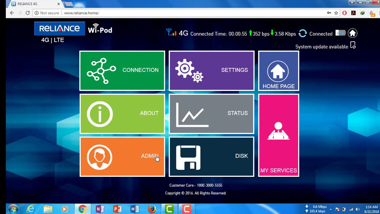 Unlock ZTE wd670 Airtel & reliance 100% solution proof