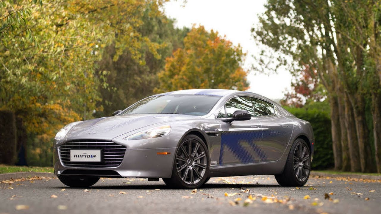 Aston Martin Rapid E Prototype First Drive Luxur E Gt Zuber Car