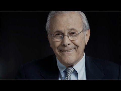 Errol Morris on Donald Rumsfeld: 'One of the strangest s I've ever done'